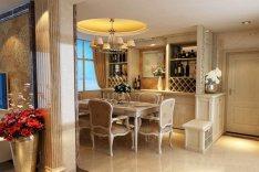 家庭餐厅酒柜装修效果图