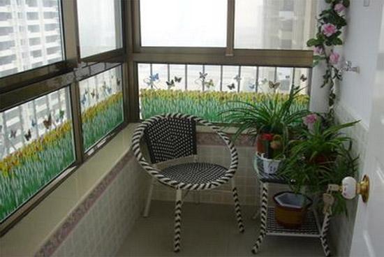 小户型阳台装修效果图