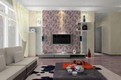 最流行的客厅电视背景墙装修细节