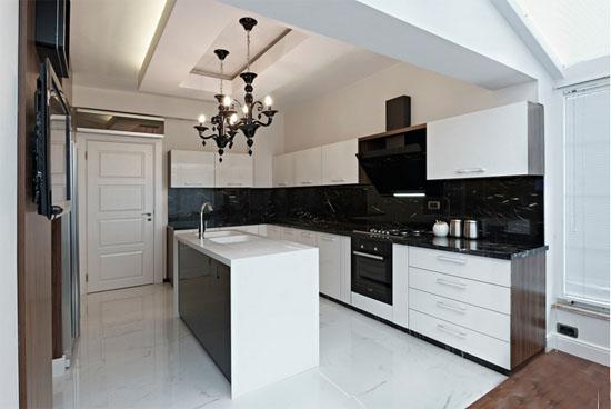 开放式厨房装修应该注意哪些问题图片
