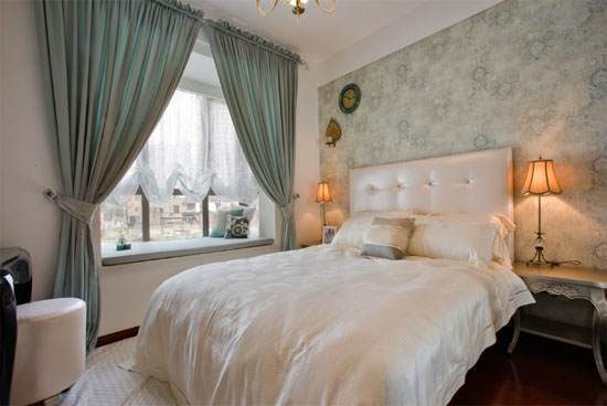 小户型简欧式卧室装修效果图