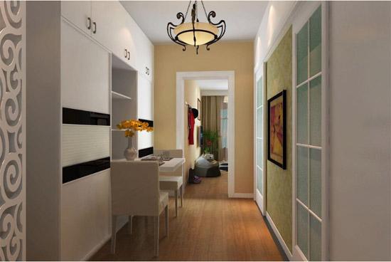 40平米小户型一居室客厅效果图(查看:客厅过道装修效果图)-40平