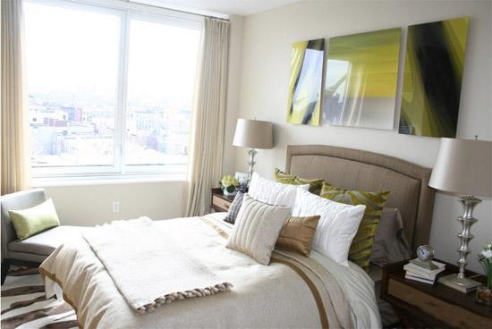 40平米一居室小户型卧室装修效果图
