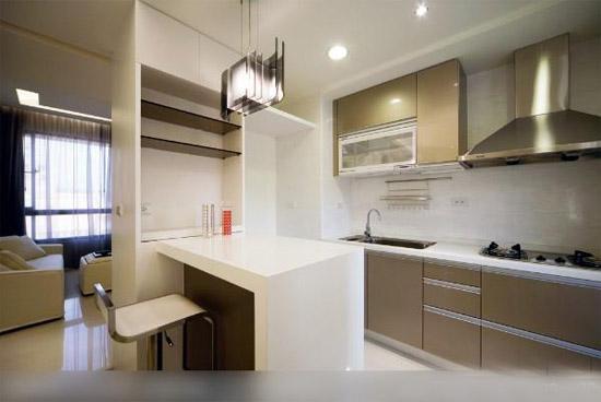 厨房与客厅隔断效果图