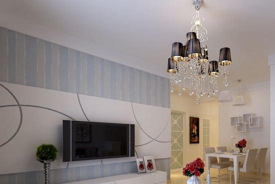 2017最流行客厅电视背景墙装修效果图