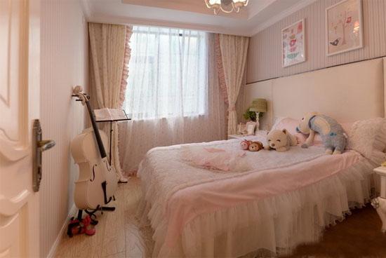 欧式女生卧室装修效果图