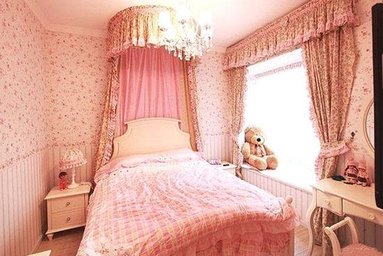 小清新90后女生卧室装修效果图