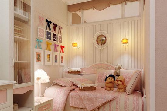 女生小公主的房间效果图
