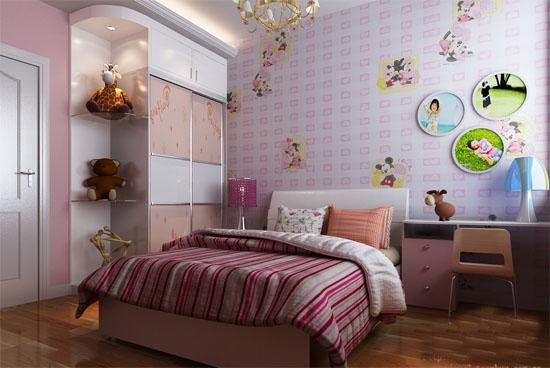 10平米儿童卧室装修效果图