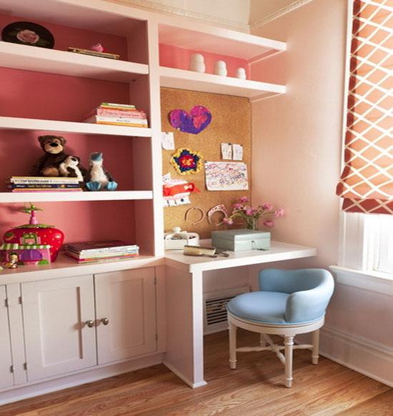 欧式小书房装修效果图