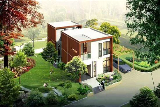 农村二层经济型小别墅装修效果图