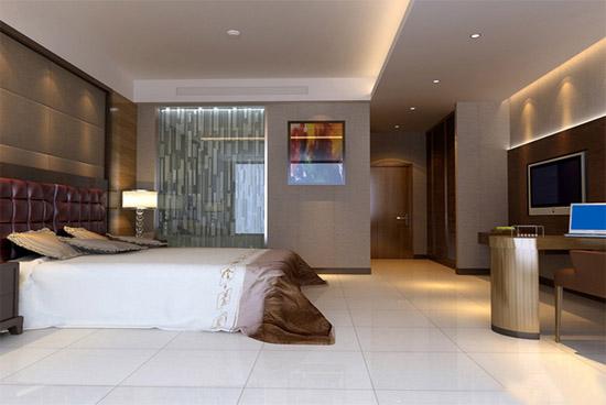 星级酒店客房装修效果图