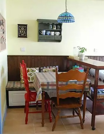 50平米老房子装修效果图(餐厅)