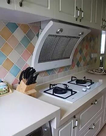 50平米老房子装修效果图(厨房)