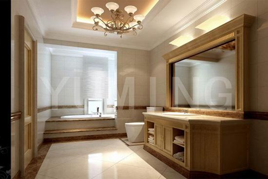 豪华欧式古典卫生间装修效果图