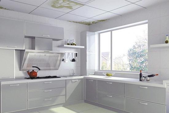 小清新阳台厨房装修效果图