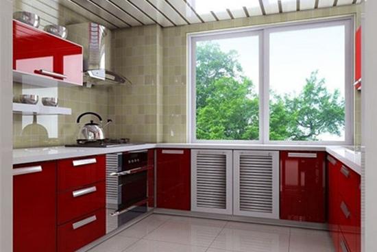 厨房装修                 小户型一居室阳台厨房装修效果图,业主家图片