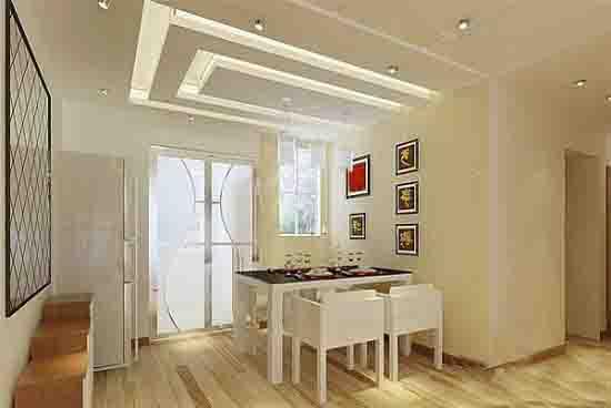 欧式客厅吊顶效果图正方形