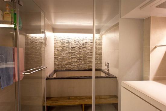 小户型现代简约卫生间装修效果图