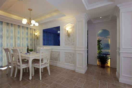 家庭小客餐厅吊顶装修效果图