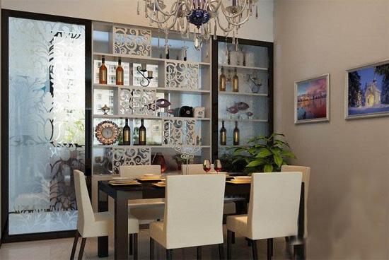 家庭餐厅酒柜尺寸大小