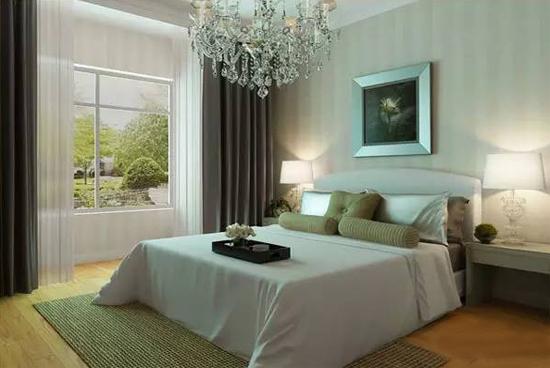 卧室大床装修效果图