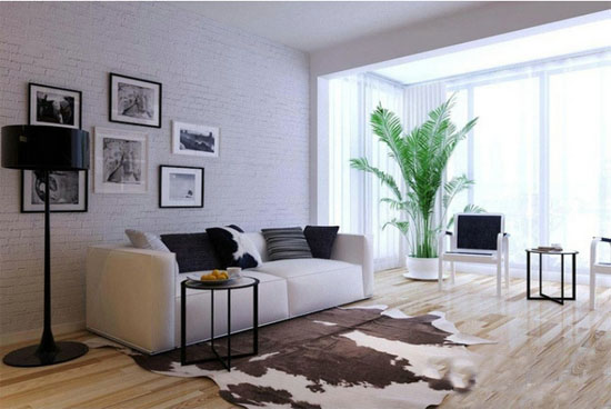 如果利用家庭客厅和阳台的空间感来设计阳台,会在无形间给阳台扩容