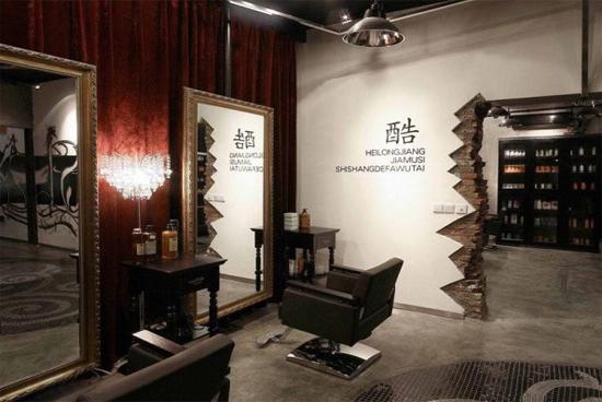 60平米理发店装修效果图