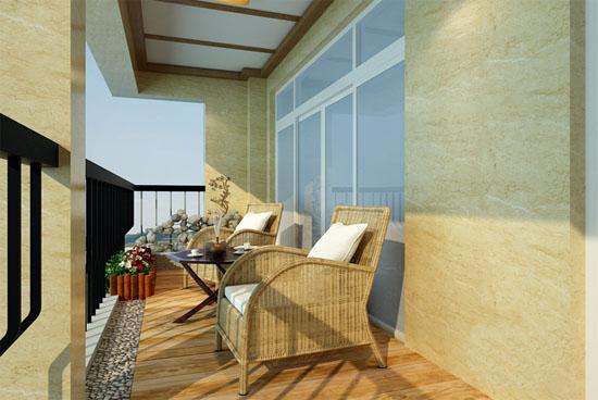 2017年最新家居阳台装修风水