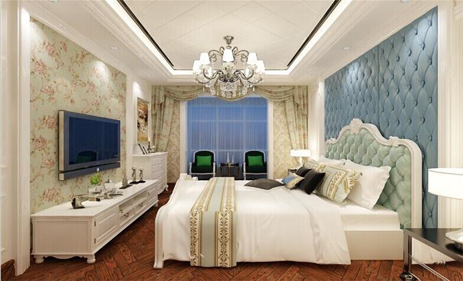 太原恒大绿洲卧室装修效果图