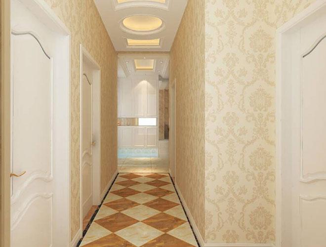 客厅走廊效果图